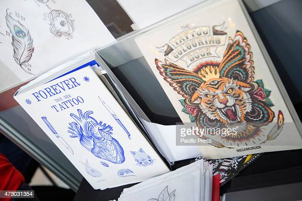 Books about tattoos on sale during the \