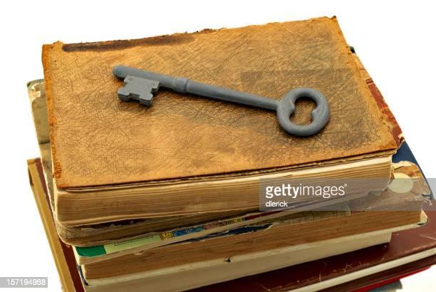 Livros e chave