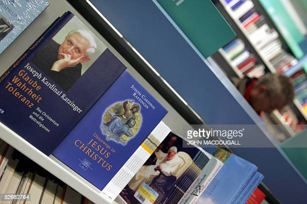 Books by Joseph Ratzinger are on display in a Munich bookshop 22 April 2005 As Pope John Paul II's chief doctrinal officer and key advisor Ratzinger...