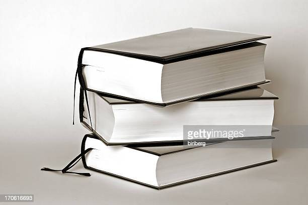Books in black and white