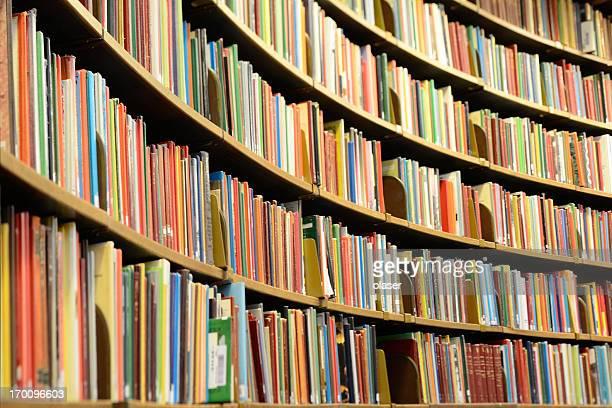 Books! Library bookshelf