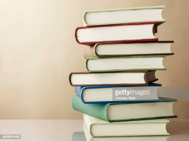 books. - stack stock photos and pictures