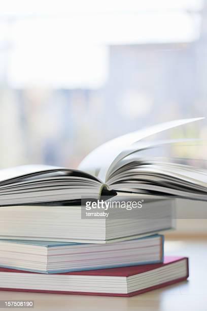 Books Pile of Literature