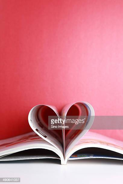Books Put in The Shape of Heart