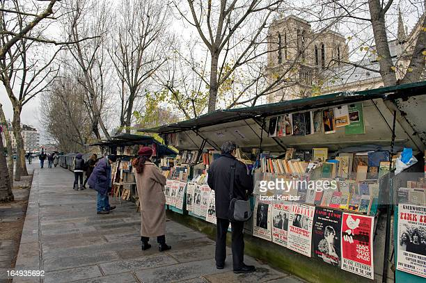 Bookseller on Banks of Seine