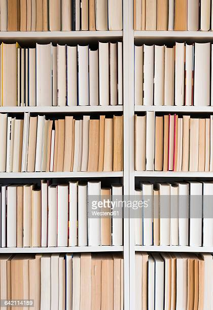 bookshelf and books - book shelf stock photos and pictures