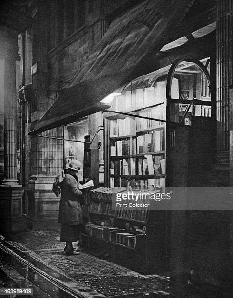 A bookshop in Bloomsbury London 19261927 From Wonderful London volume II edited by Arthur St John Adcock published by Amalgamated Press
