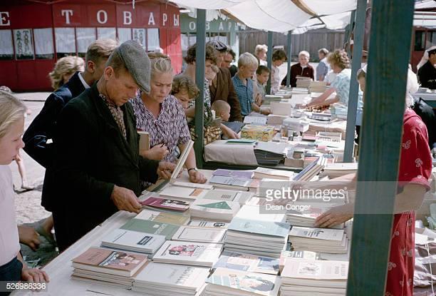 Bookstall on Russian Market