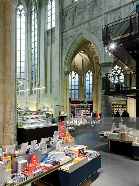 Bookstore in Dutch 13th century church