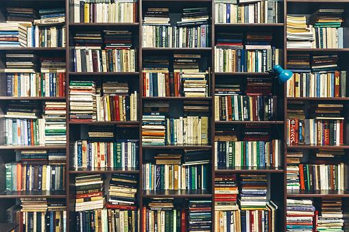 Bookstore. Public Old Library. Creativity Concept 943322510