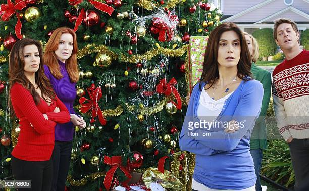 HOUSEWIVES Boom Crunch Christmas cheer is curtailed when disaster strikes on Walt Disney Television via Getty Images's Desperate Housewives SUNDAY...