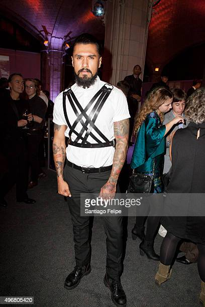 Boomer Banks attends 2015 Out100 Celebration at Gustavino's on November 11 2015 in New York City
