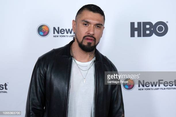 Boomer Banks attends Killer Unicorn Premiere during NewFest Film Festival at SVA Theater on October 29 2018 in New York City