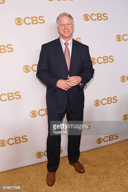 Boomer Esiason attends the 2015 CBS Upfront at The Tent at Lincoln Center on May 13 2015 in New York City