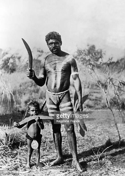 Boomerang Hunters In Australia In 1931