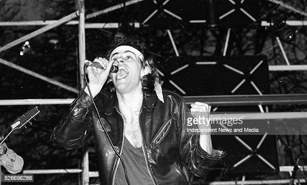 Boomtown Rats concert at Leixlip Castle Ireland 2nd March 1980