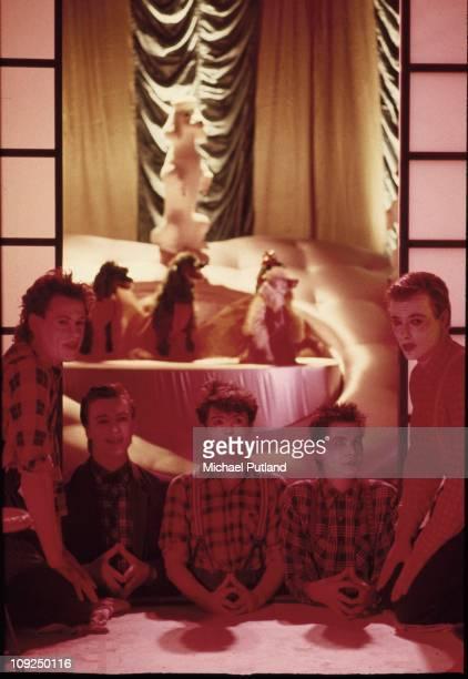 Boomtown Rats group portrait London 1982