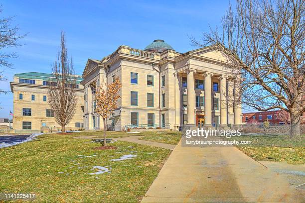 boone county courthouse - columbia missouri stock pictures, royalty-free photos & images