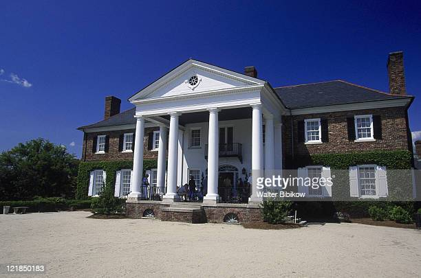 boone hall plantation, charleston - boone hall plantation stock pictures, royalty-free photos & images