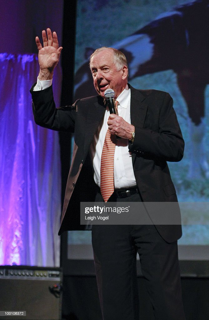 T. Boone Pickens attends a Celebration of America's Heritage at the National Museum of the American Indian on May 20, 2010 in Washington, DC.