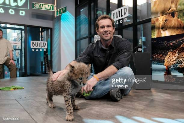 Boone Smith attends the Build Series to discuss 'Big Cat Week' at Build Studio on February 20, 2017 in New York City.
