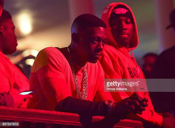 Boosie attends the Boosie Host Saints vs Falcons Game After Party at The Mansion Elan on January 2 2017 in Atlanta Georgia