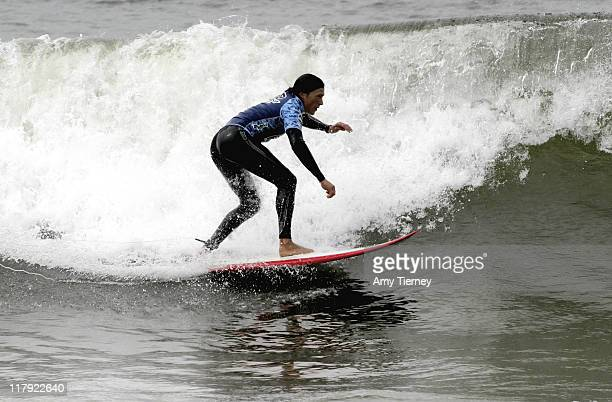 Boost Mobile celebrity rider Andrew Keegan at the Boost Mobile Pro and Celebrity Surf Contest at Monarch Beach in Laguna Nigel California on...
