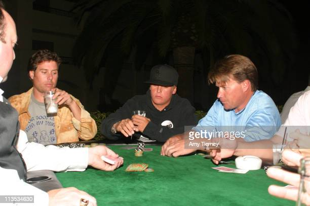 Boost Mobile Poker table during Boost Mobile Pro of Surf Celebrity Poker Night at St. Regis Hotel, Dana Point in Laguna Nigel, California, United...