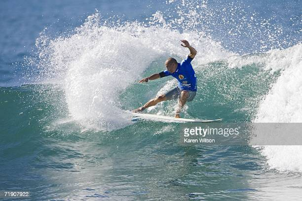 Boost Mobile Pro winner seven times ASP world champion Kelly Slater of Cocoa Beach FL USA finishes runner up at this years Boost Mobile Pro September...