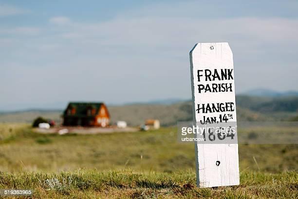 bota hill, frank parish memorial - montana fotografías e imágenes de stock