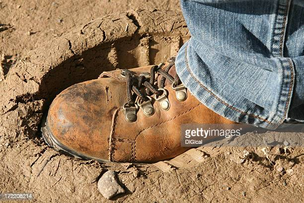 Boot in Mud