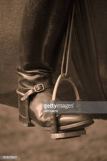 Boot In Stirrup.