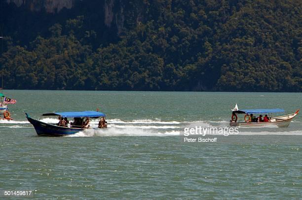 Boote vor Küste von Pantai Cenang Insel Langkawi Malaysia Asien Boot fahren Meer Reise NB DIG PNr 1836/2011