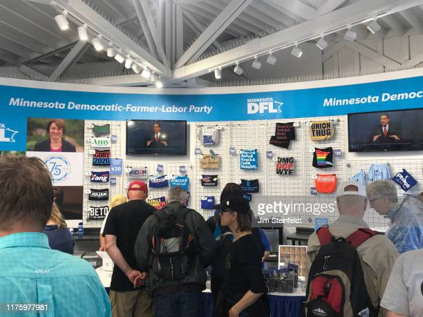Booth at the Minnesota State Fair on September 1, 2019. (Photo by Jim Steinfeldt/Michael Ochs Archives/Getty Image