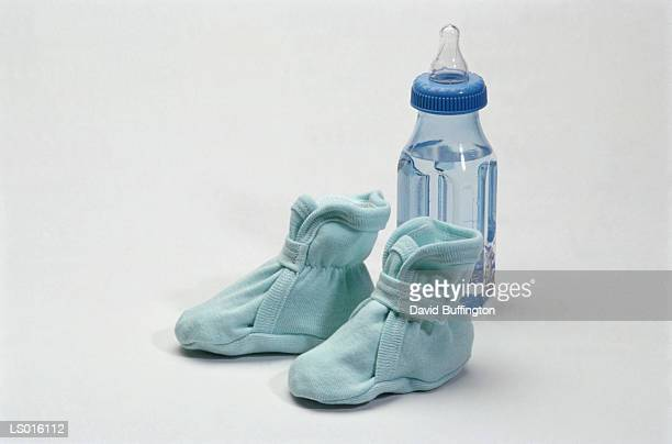 Bootie and Baby Bottle