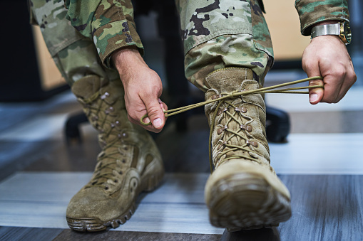Boots built for battle 1015448450