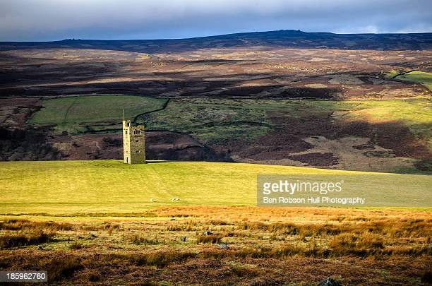 boot's folly tower - south yorkshire stock pictures, royalty-free photos & images