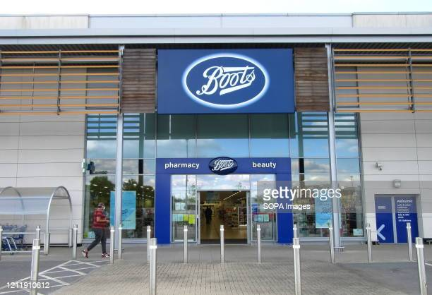 Boots logo seen at one of their retail store branches.
