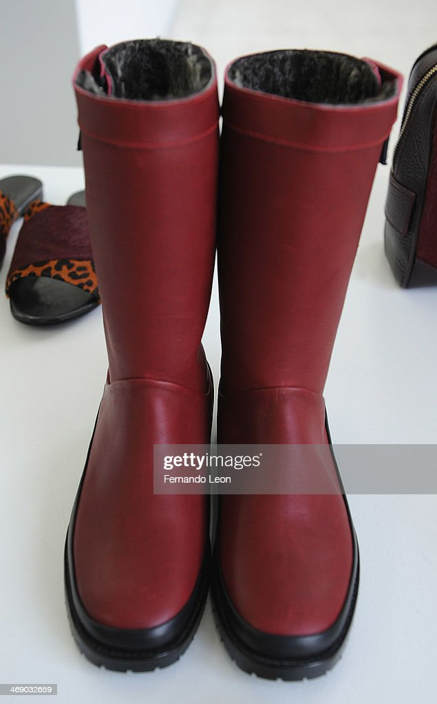 Boots pictured during the Newbark presentation during Mercedes-Benz Fashion Week Fall 2014 on February 12, 2014 in New York City.