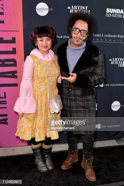 Boots Riley and guest attend An Artist at the Table Dinner and Program during the 2019 Sundance Film Festival at Utah Film Studios on January 24 2019...