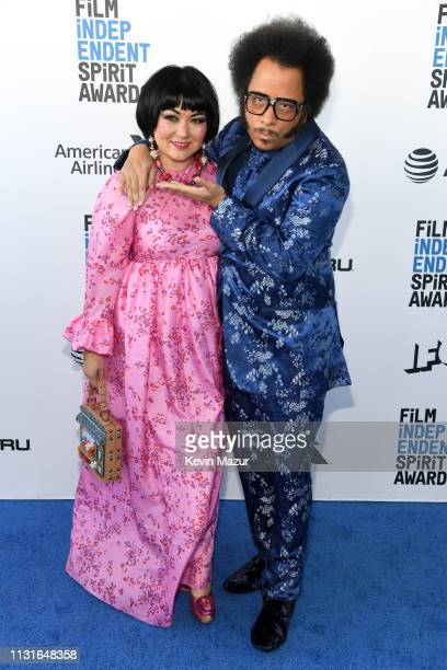 Boots Riley and guest attend the 2019 Film Independent Spirit Awards on February 23 2019 in Santa Monica California