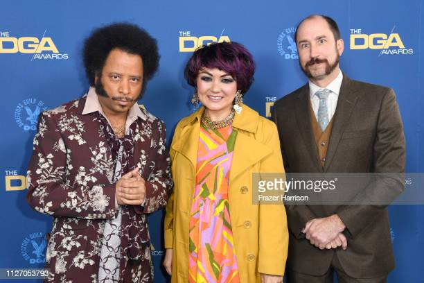Boots Riley and guests attend the 71st Annual Directors Guild Of America Awards at The Ray Dolby Ballroom at Hollywood Highland Center on February 02...