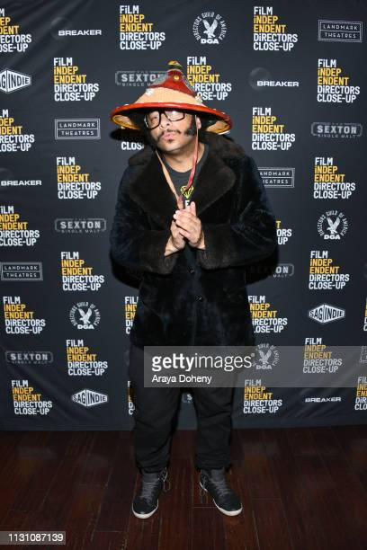 Boots Riley at Film Independent Directors Close Up The Independent Spirit A Directors Roundtable at The Landmark on February 20 2019 in Los Angeles...