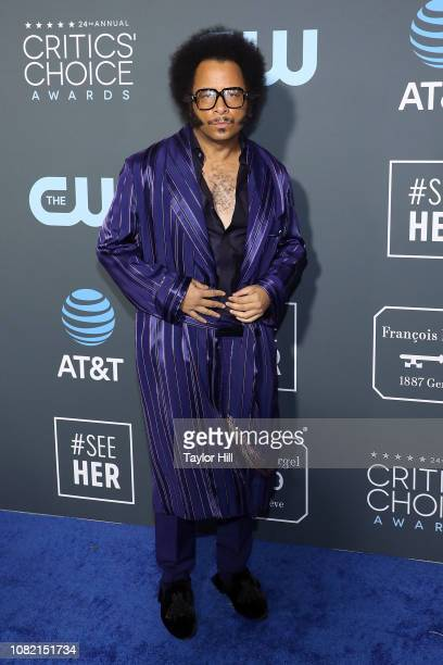 Boots Riley attends The 24th Annual Critics' Choice Awards at Barker Hangar on January 13 2019 in Santa Monica California