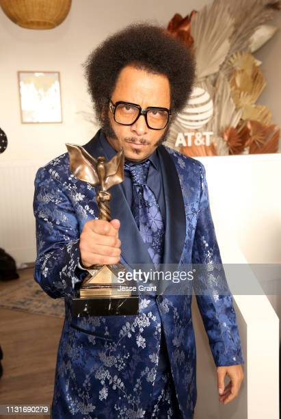 Boots Riley attends the DIRECTV Bungalow Presented By ATT at the 2019 Film Independent Spirit Awards on February 23 2019 in Santa Monica California
