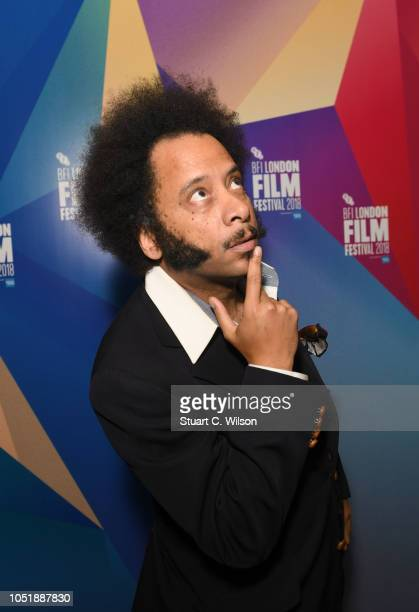 Boots Riley attends the LFF Connects Boots Riley at the 62nd BFI London Film Festival on October 11 2018 in London England