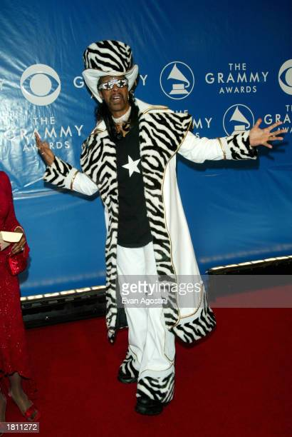 Bootsy Collins attends the 45th Annual Grammy Awards at Madison Square Garden on February 23 2003 in New York City