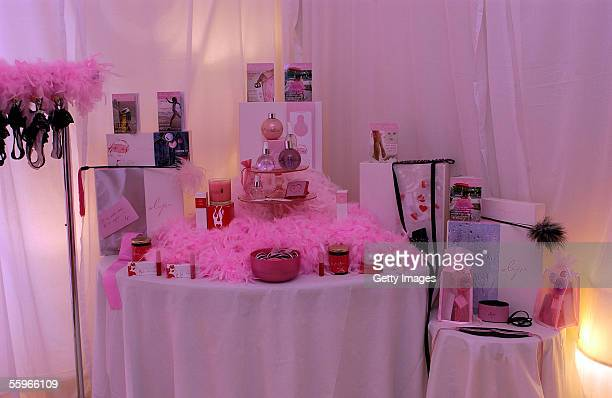 Booty Parlor displayd at the Design Suites at the Beverly Hilton Hotel on October 19 2005 in Beverly Hills California