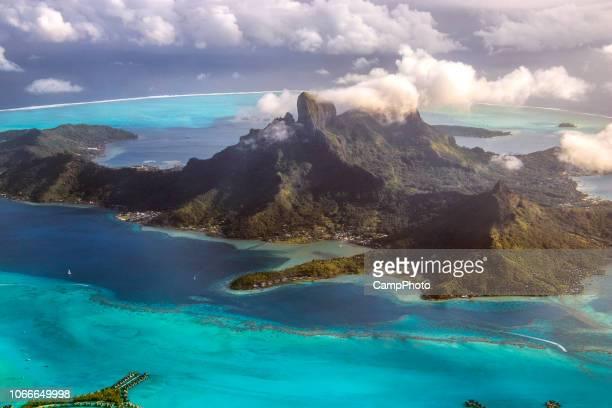 Bora Bora desde arriba