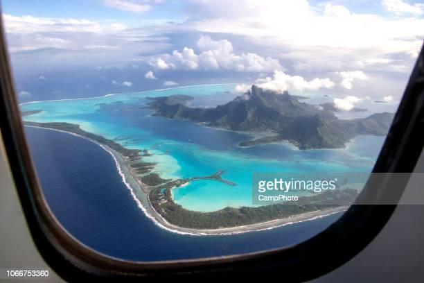Bora Bora through the window